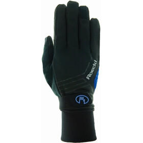 Roeckl Raab Gants, black/blue